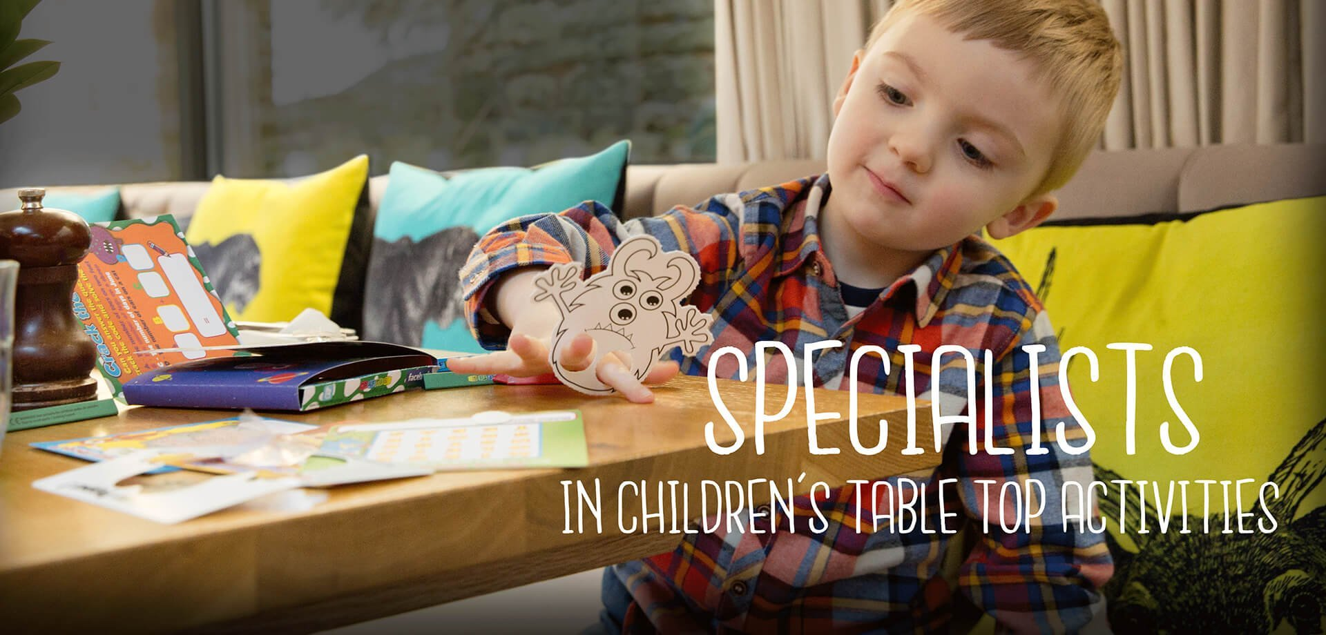 SPECIALISTS IN CHILDRENS TABLETOP ACTIVITIES