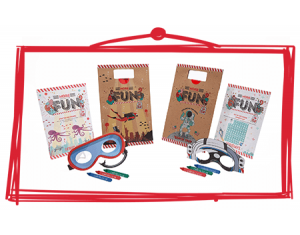 TGI Fridays launch range of FSC certified kids packs