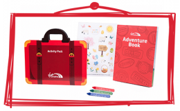 Children's Onboard Activity Amenity Kits & Snack Boxes