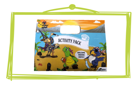DFDS Ferries Bespoke Children's Activity Packs