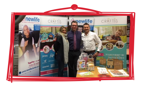 Crafti's partners with children's charity Newlife