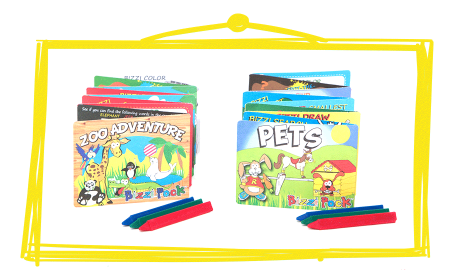 Children's Bizzi Activity Packs