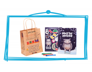 John Lewis Moz children's activities and meal bags