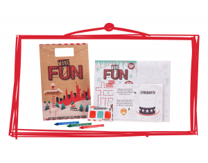 TGI Friday's December Promotion Activity Packs