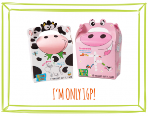 FOOD BOXES - COW & PIG NEW DESIGN!