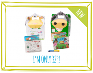 NEW! FOOD BOXES & MINI ACTIVITY KITS - FARM (SHEEP & DONKEY)