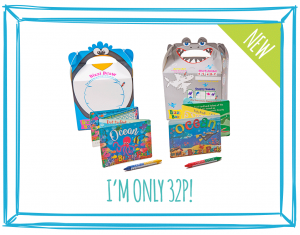 OCEAN BIZZI KIDS TAKEAWAY BOXES AND MINI ACTIVITY KITS