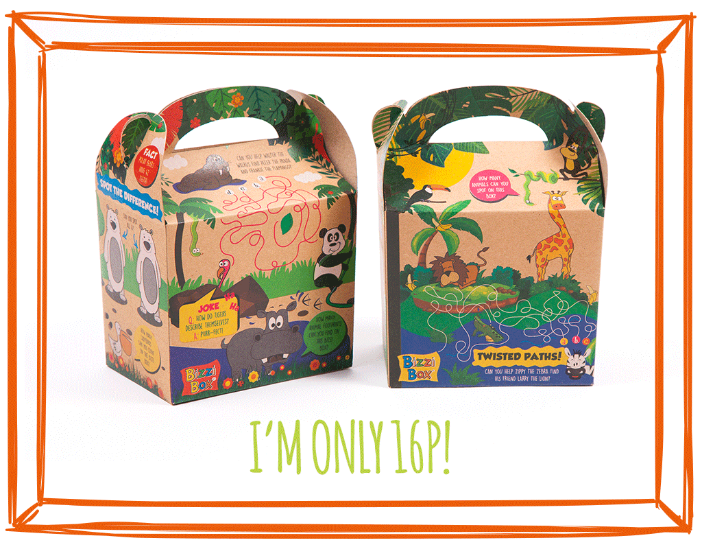 KRAFT MEAL BOXES - SAFARI & ZOO