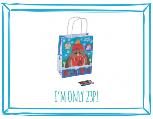 WINTER BIZZI KIDS TAKEAWAY BAGS