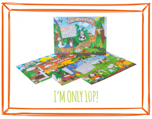 ANIMAL BIZZI KIDS MENU MATS