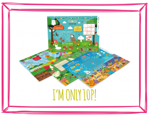 NATURE BIZZI KIDS MENU MATS