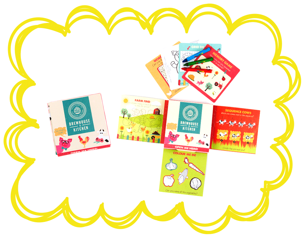 Bespoke Activity Packs | Kids Activities for Restaurants, Hotels ...